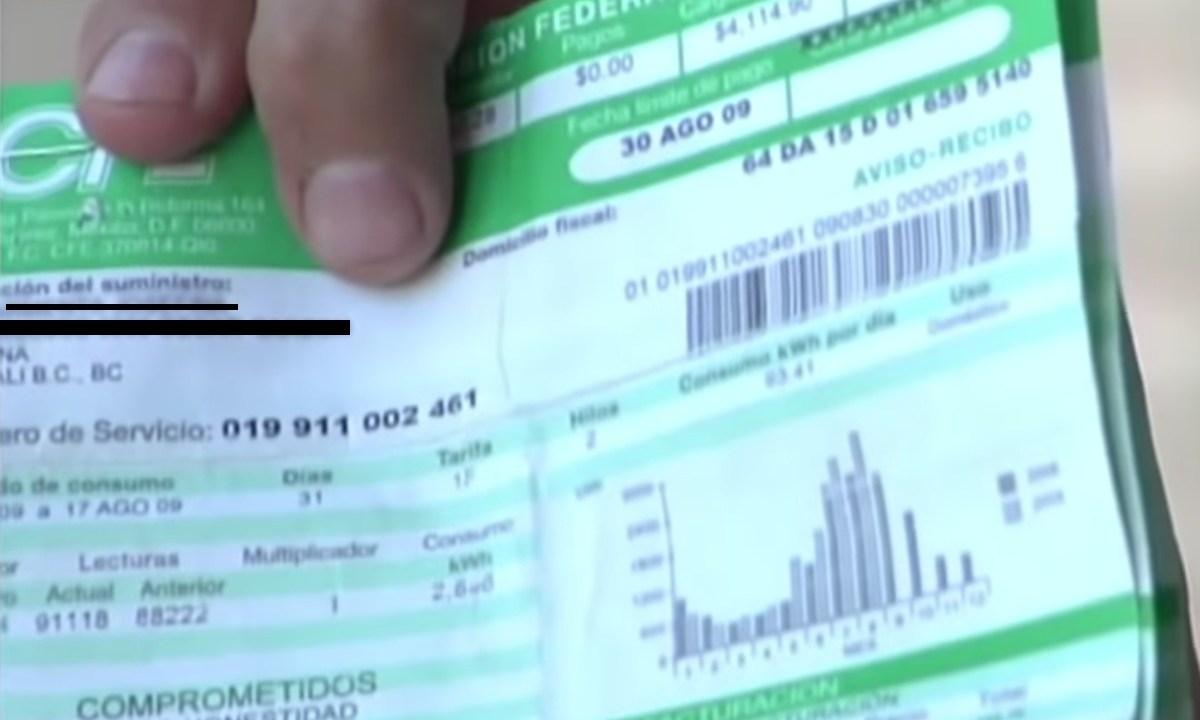 Tarifa Luz Basada Inflación Secretaría Hacienda