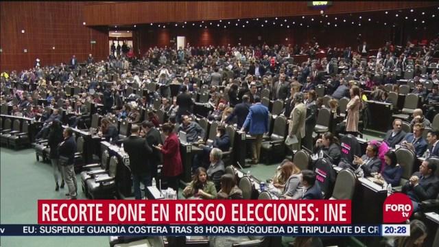 Recorte Presupuesto Pone Riesgo Operación INE