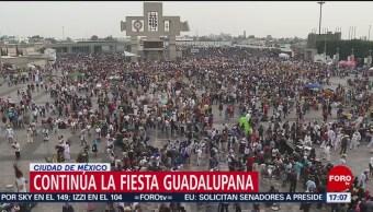 Reportan saldo blanco tras fiesta guadalupana