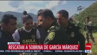 Rescatan a sobrina de Gabriel García Márquez