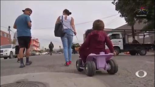 Reubican Migrantes A Una Bodega En Tijuana