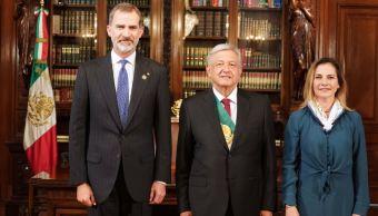 Felipe VI, primer líder que recibe López Obrador como presidente