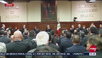 Rinden protesta 30 magistrados y un juez de circuito en la SCJN