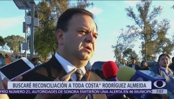 Rodríguez Almeida buscará reconciliación en Puebla