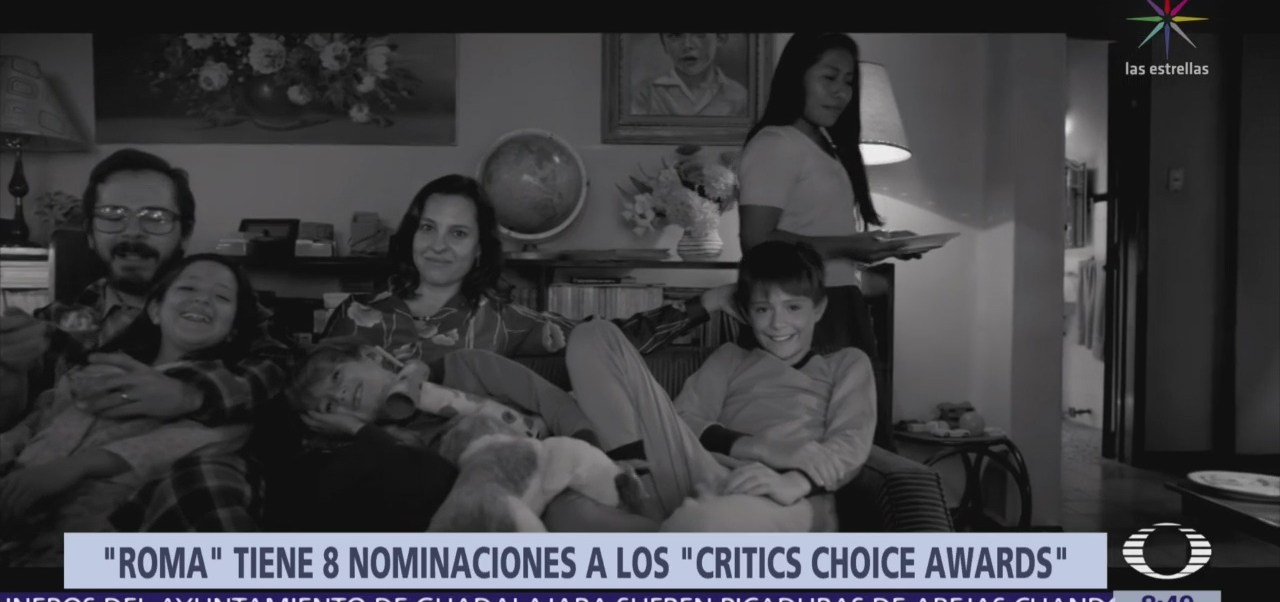 'Roma', de Alfonso Cuarón, recibe 8 nominaciones a los Critics' Choice Awards