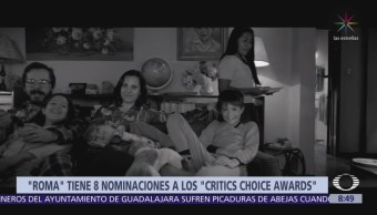'Roma', de Alfonso Cuarón, recibe 8 nominaciones a los Critics' Choice Awards