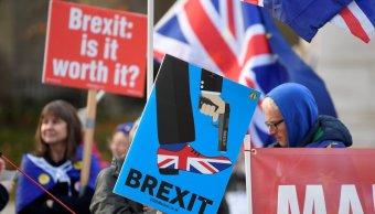 may envia ministros para explicar poblacion acuerdo del brexit