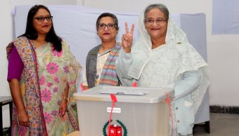 primera ministra bangladesh logra victoria electoral oposicion acusa fraude