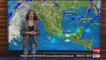 Gran Parte México Registra Temperaturas Bajas