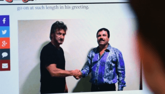 Video de Sean Penn en internet, evidencia contra Joaquín 'El Chapo'