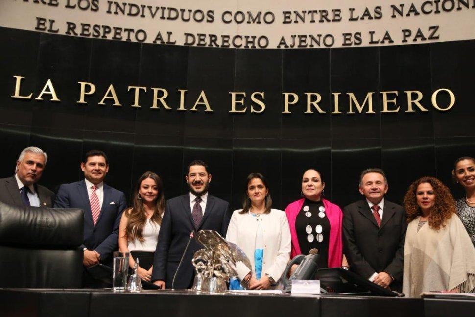 Senado ratifica a Margarita Ríos-Farjat