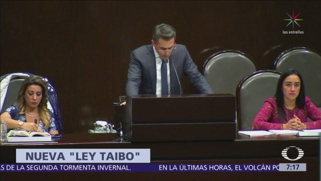 Sergio Mayer presenta en Cámara de Diputados la Ley Taibo
