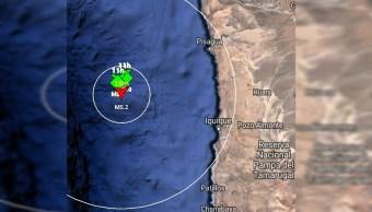 Sismo de magnitud 5.1 sacude región de Tarapacá, en Chile