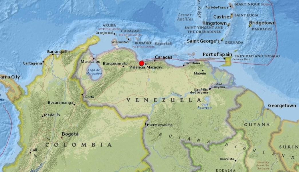 Sismo potente sacude Caracas y varios estados de Venezuela