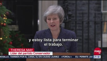 Sobrevive Theresa May A Moción De Censura