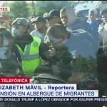 Tensión en albergues de migrantes en Tijuana