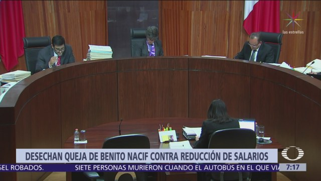 TEPJF desecha queja del consejero Benito Nacif