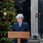 Theresa May, ante la posibilidad de ser destituida