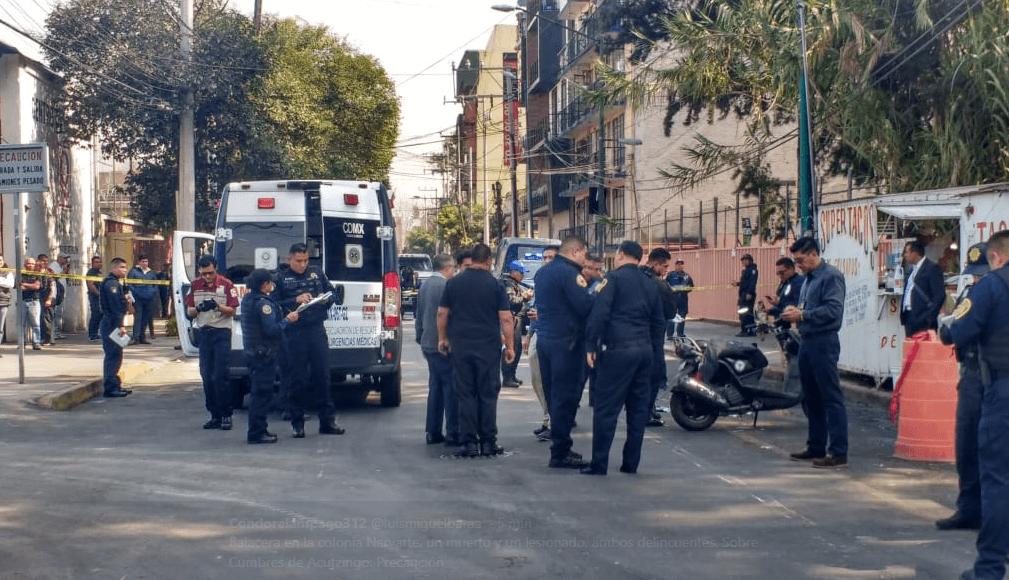 Tiroteo en la alcaldía Benito Juárez deja un muerto