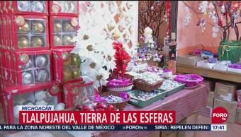 Tlalpujahua Municipio Dedicado Producción De Esferas