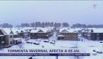 Tormenta invernal afecta el sureste de Estados Unidos