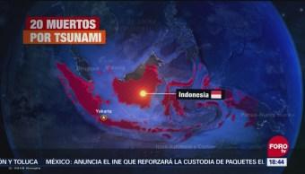 Tsunami En Indonesia Deja Más De 20 Muertos, Tsunami, Indonesia, 20 Muertos, Islas, Java, Sumatra