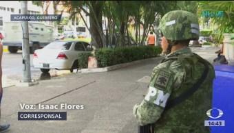 Turistas comienzan a llegar a Acapulco