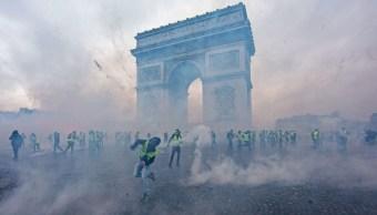 Fotos: Violentas protestas contra gasolinazo en París