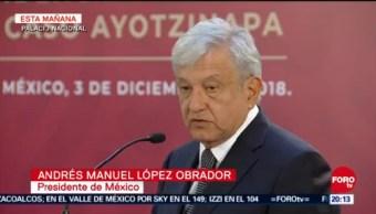 AMLO Firma Decreto Presidencial Caso Ayotzinapa