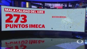 Fogatas Pirotecnia Mala Calidad Aire Valle De México