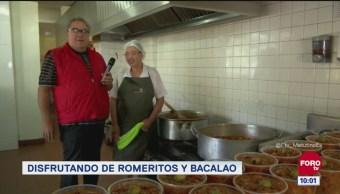 Viernes culinario Romeritos y bacalao