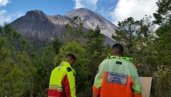 INEGI dona equipos para el monitoreo del Volcán de Colima