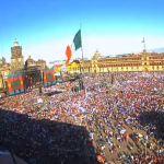 Celebran investidura de AMLO con festival musical en el Zócalo