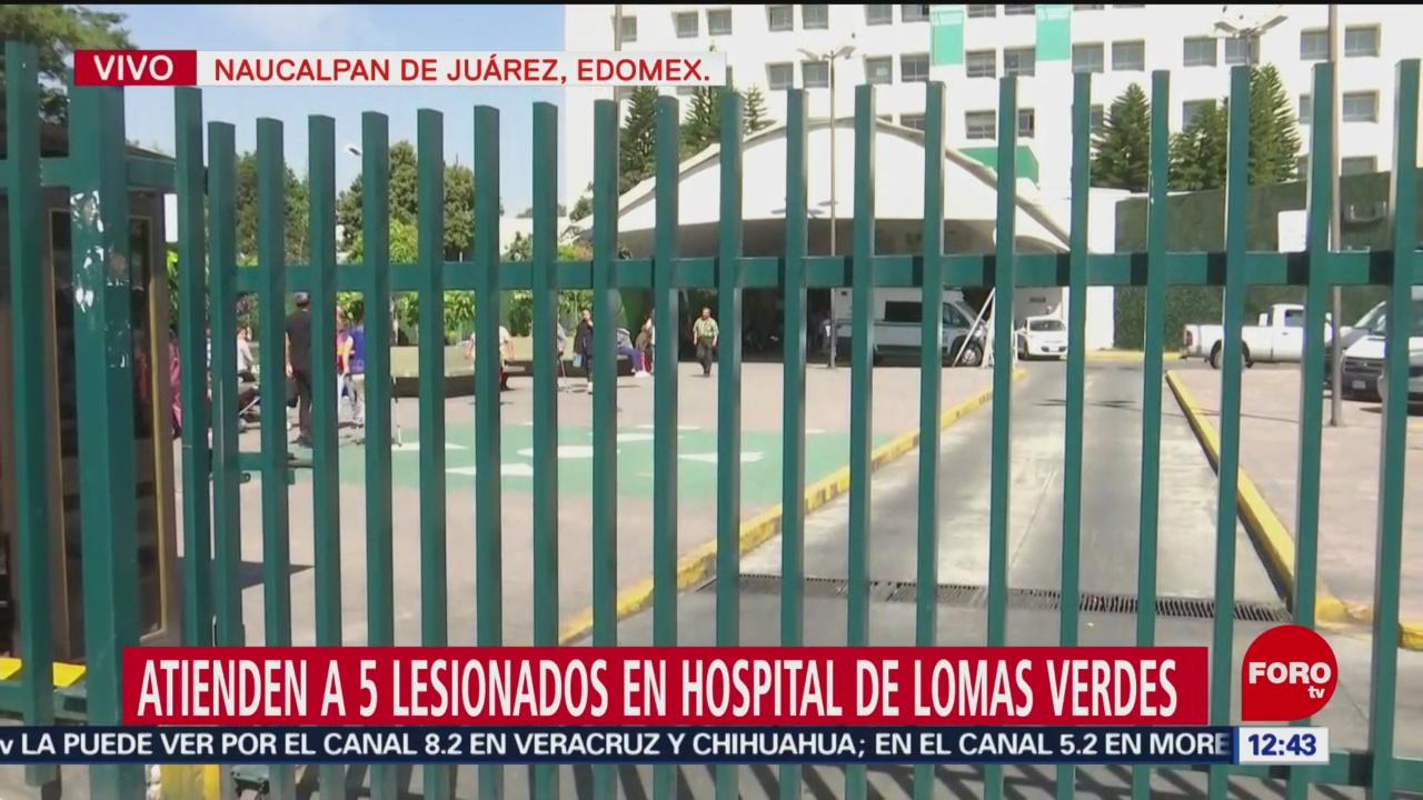 5 heridos de Tlahuelilpan, delicados, en Hospital de Lomas Verdes