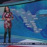 El Clima 'A las Tres' con Daniela Álvarez del 21 de enero de 2019