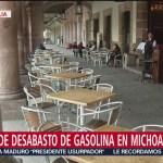 Se cumplen 22 días sin gasolina en Michoacán