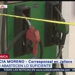 Abasto de combustible en Jalisco es insuficiente
