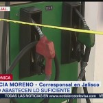 Abasto de combustible en Jalisco es insuficiente