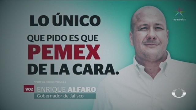 Foto: Abasto irregular confronta AMLO Jalisco 23 de enero 2019