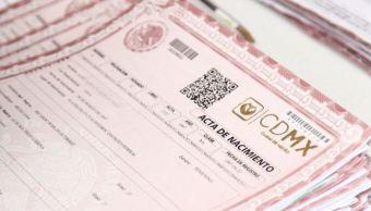 cdmx elimina renovacion acta de nacimiento requisito realizar tramites