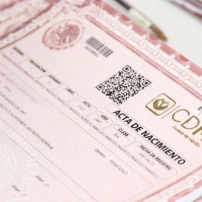 CDMX elimina renovación de acta de nacimiento como requisito para realizar trámites