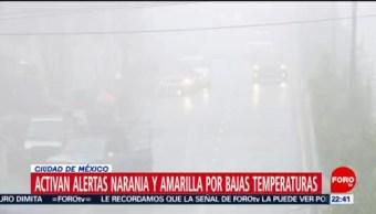 FOTO: Activan Alertas Naranja Y Amarilla Por Bajas Temperaturas En Cdmx, Alertas Naranja, Amarilla, Bajas Temperaturas, Cdmx, Ciudad De México, Frente Frío Número 31, 27enero 2019