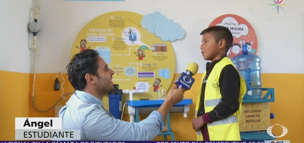 Agua Segura ayuda a niños mexicanos con apoyo de Unicef