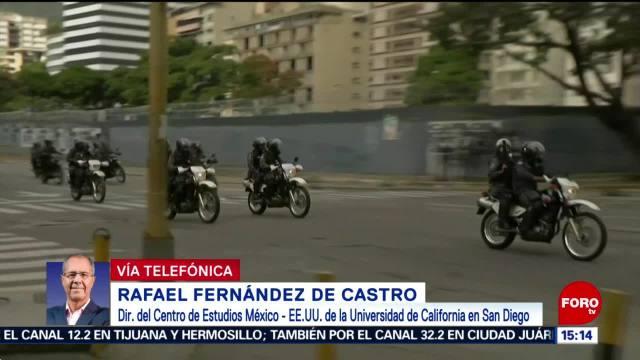 Situación en Venezuela: Rafael Fernández de Castro