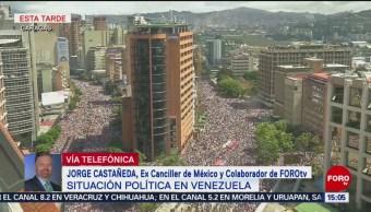 Al rojo vivo, la situación en Venezuela: Rafael Fernández de Castro