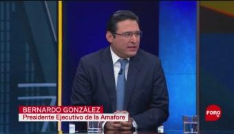 Foto: Alebrijes entrevistan al presidente ejecutivo de la Amafore, 27enero 2019
