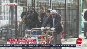 Alerta Amarilla Bajas Temperaturas En Chihuahua