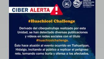 Foto: Alertan sobre #HuachicolChallengue 28 enero 2019