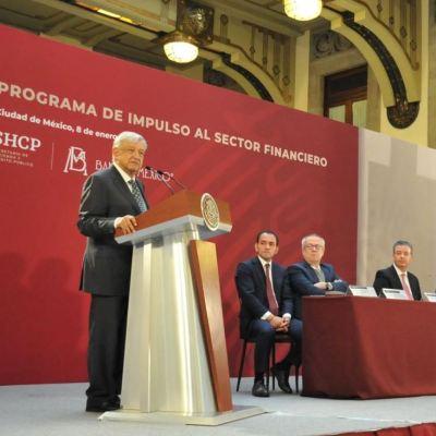 López Obrador: Se financiará desarrollo económico sin generar deuda