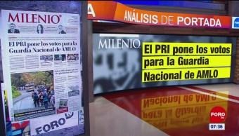 Análisis de las portadas nacionales e internacionales del 17 de enero del 2019